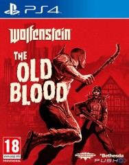 WOLFENSTEIN THE OLD BLOOD PS4 ( naudotas )