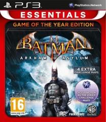 Batman Arkham Asylum (PS3)